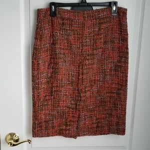 Jcrew No2 Tweed Pencil Skirt
